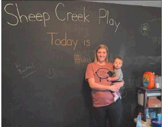Sheep Creek Play encourageses learning through play