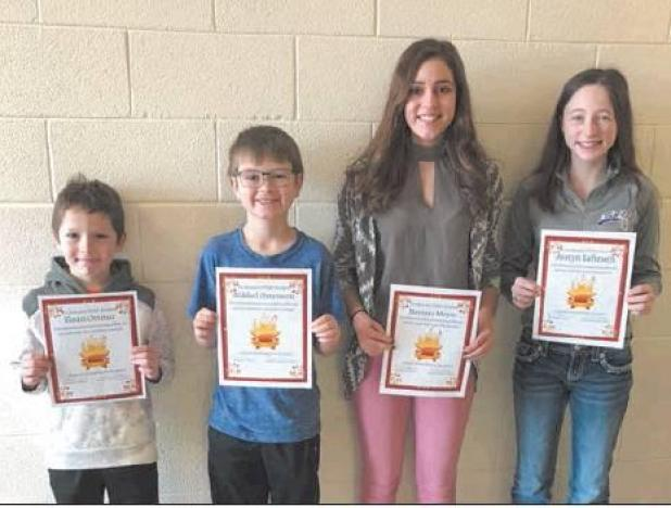 Elgin/New Leipzig Star Students for January