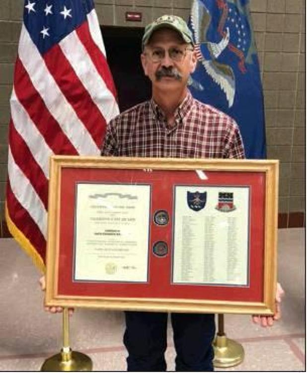 Weishaar part of unit honored for Valor