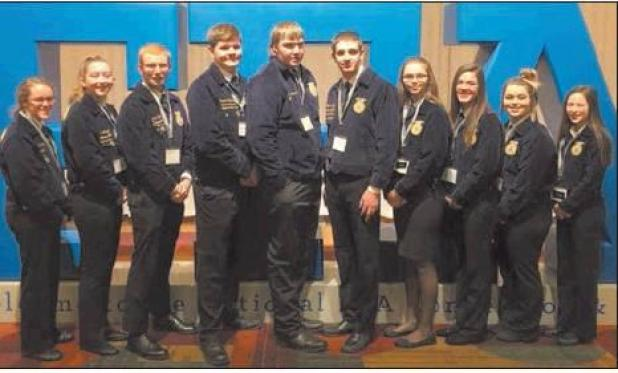Grant County FFA attends National Convention