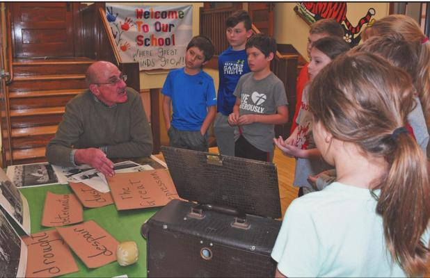 Operation Round-Up grant helps fund hand-on history lesson