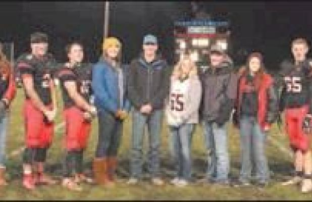 Homecoming Court recognized